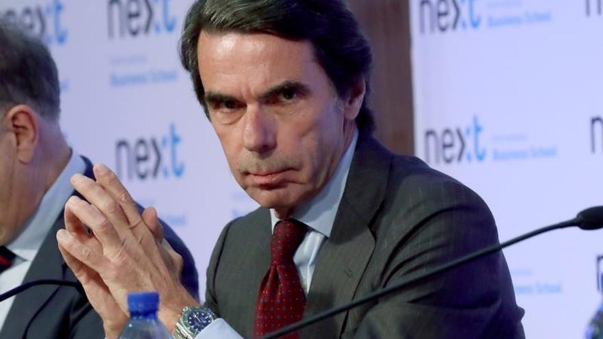 Aznar comparecerá el 18 de septiembre en la comisión de financiación del PP
