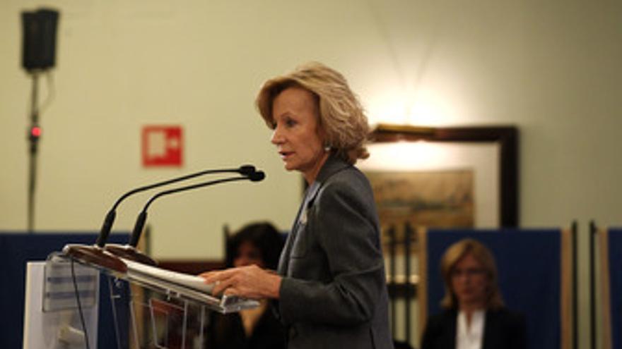 Vicepresidenta segunda y ministra de Economía y Hacienda, Elena Salgado