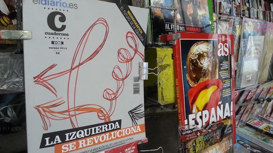 El número seis de la revista Cuadernos de eldiario.es ya está en los quioscos