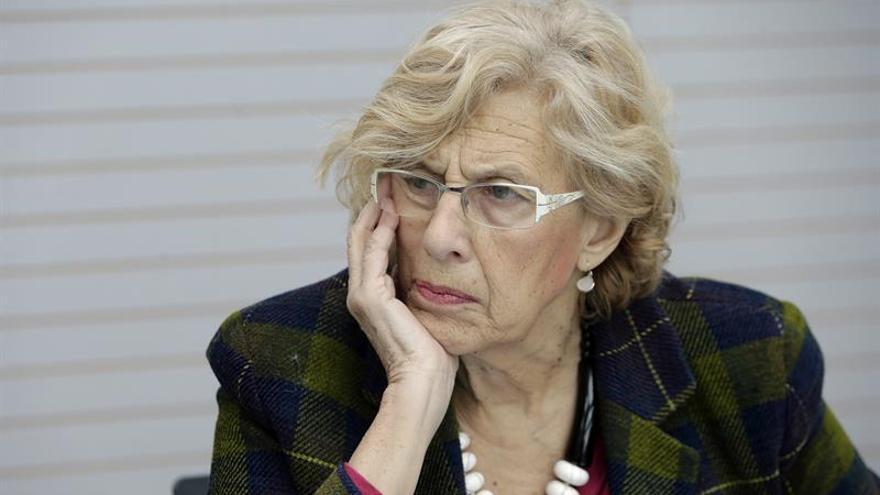 Carmena sobre la entrada del PSOE a su Gobierno: Estamos bien así y así seguimos