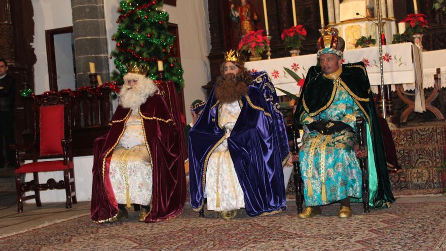 Imagen de archivo de los Reyes Magos de Villa de Mazo.