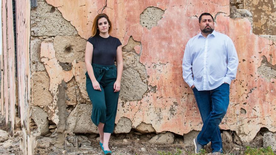 Carla Vega y Jorge Granados