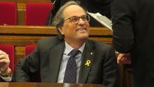 Inadmitida la querella de Quim Torra contra el líder de Cs Andalucía por llamarle racista, golpista y cobarde