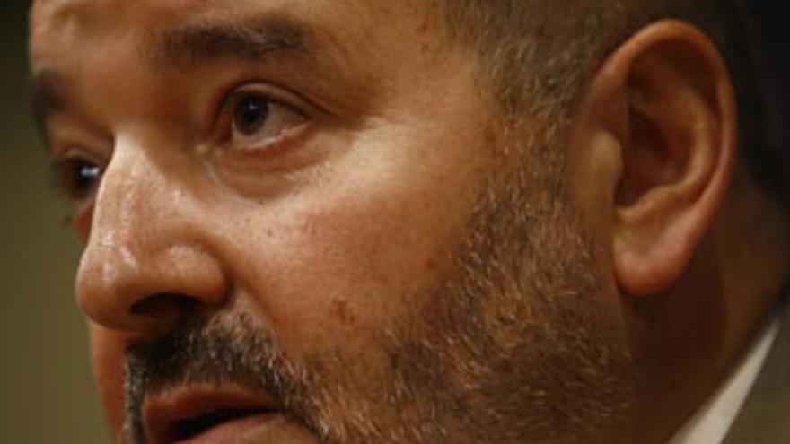 Miguel Concepción, presidente del CD Tenerife. (SANTI FERRERO)