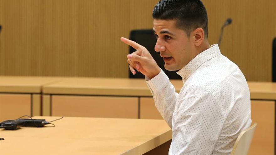 La Audiencia de Las Palmas comenzó este lunes el juicio contra Kilian J.B.O. EFE/Elvira Urquijo A.