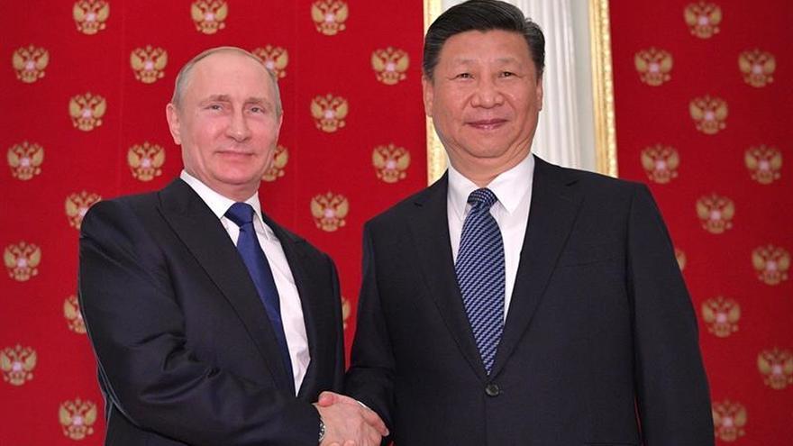 Putin y Xi acuerdan promover una iniciativa para el arreglo del conflicto coreano