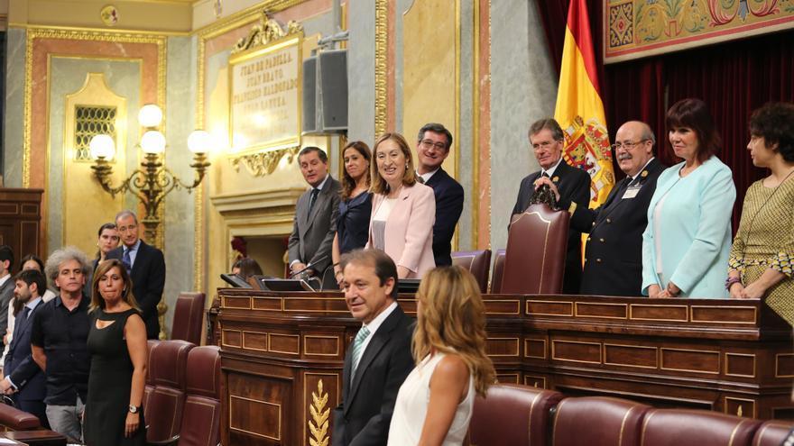Ana Pastor, en la constitución del Congreso, el 19 de julio de 2016.