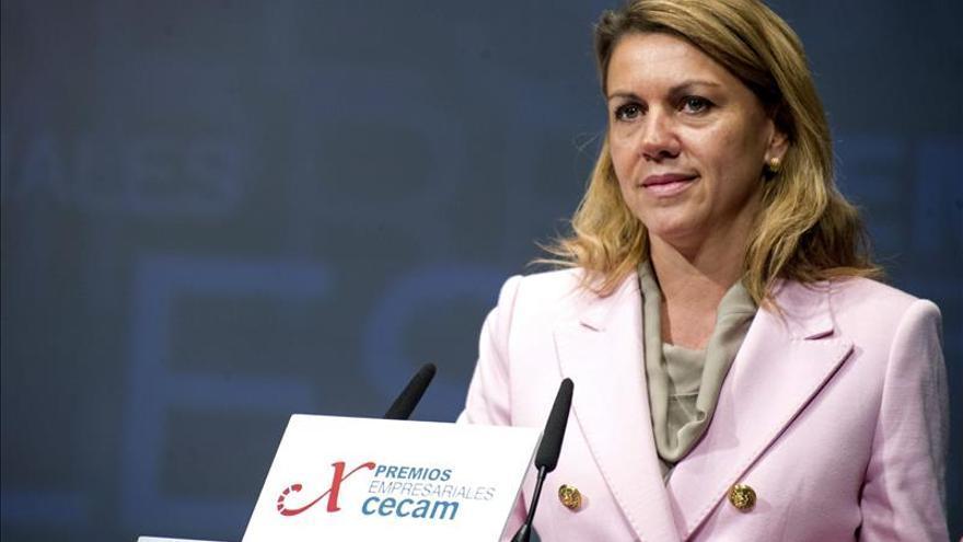 El PSOE pide una explicación urgente y clara de Cospedal sobre el caso Bárcenas