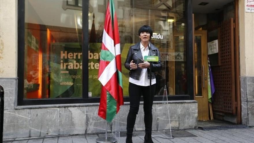 """Iriarte (EH Bildu) dice que Euskadi """"necesita un gobierno honesto, que diga la verdad y que cuide y proteja a la gente"""""""