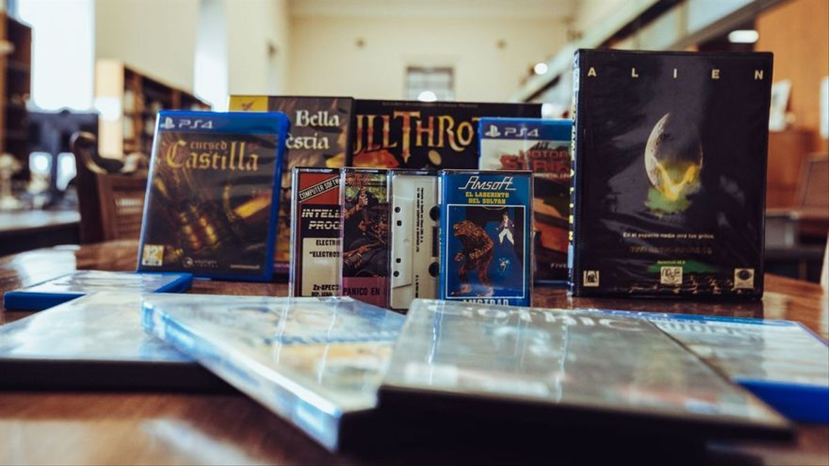 Algunos videojuegos españoles históricos.
