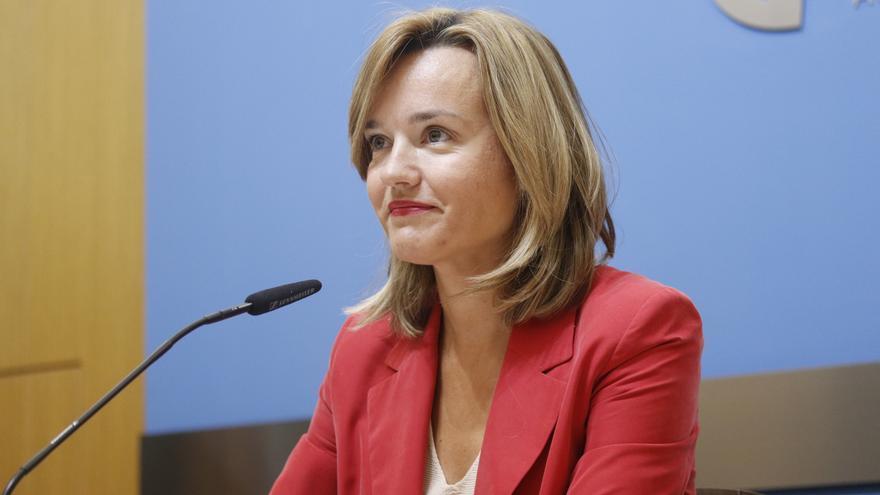 La portavoz del PSOE en el Ayuntamiento de Zaragoza, Pilar Alegría, en una imagen de archivo