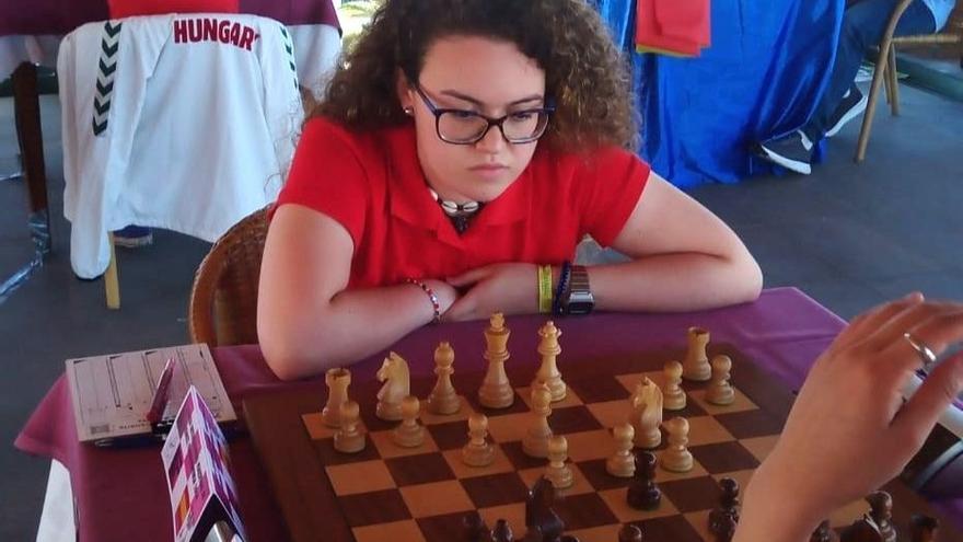 La ajedrecista grancanaria Carla Sosa