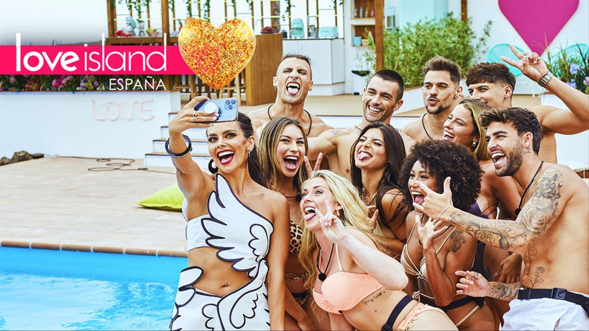 Cristina Pedroche y los concursantes de 'Love Island'