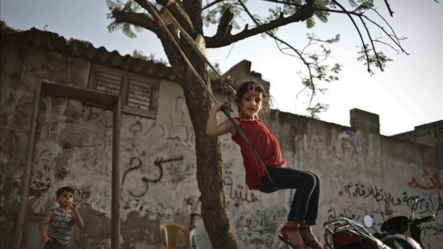 Miles de palestinos conmemoran el 65 aniversario de la Nakba