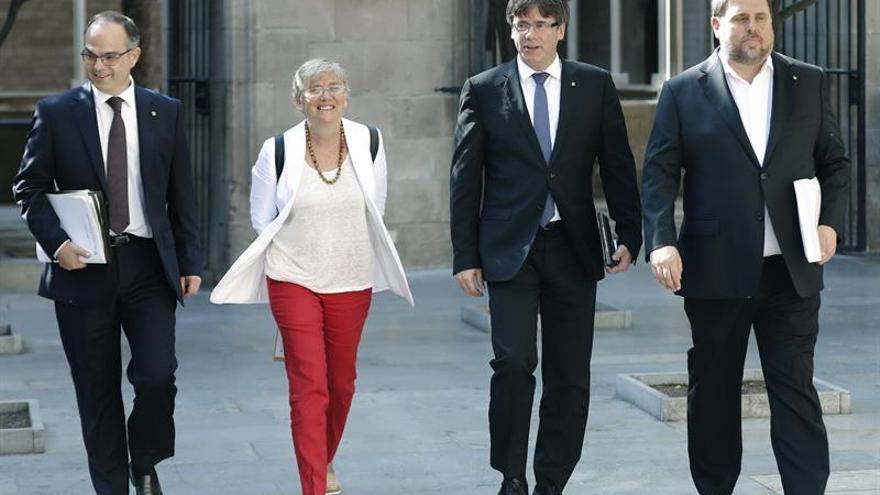 """Turull defiende el independentismo de Soler, que tiene """"confianza"""" del Govern"""