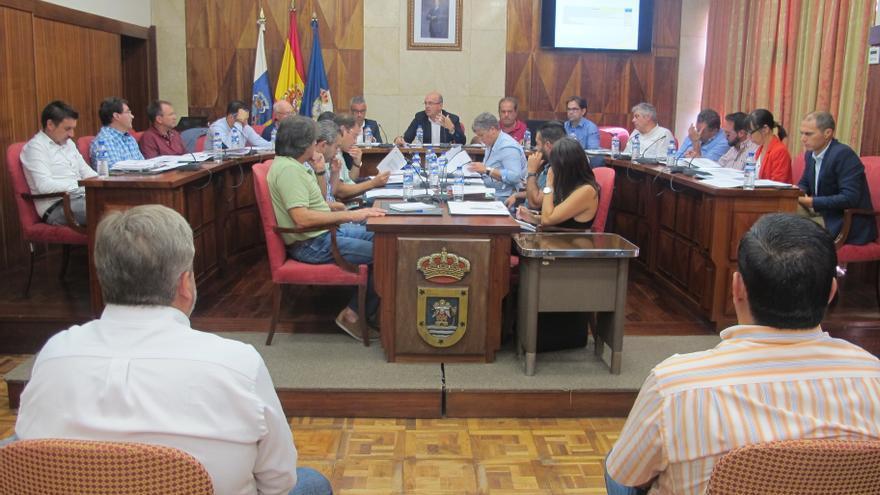 En la imagen, reunión celebrada este miércoles en el Cabildo.