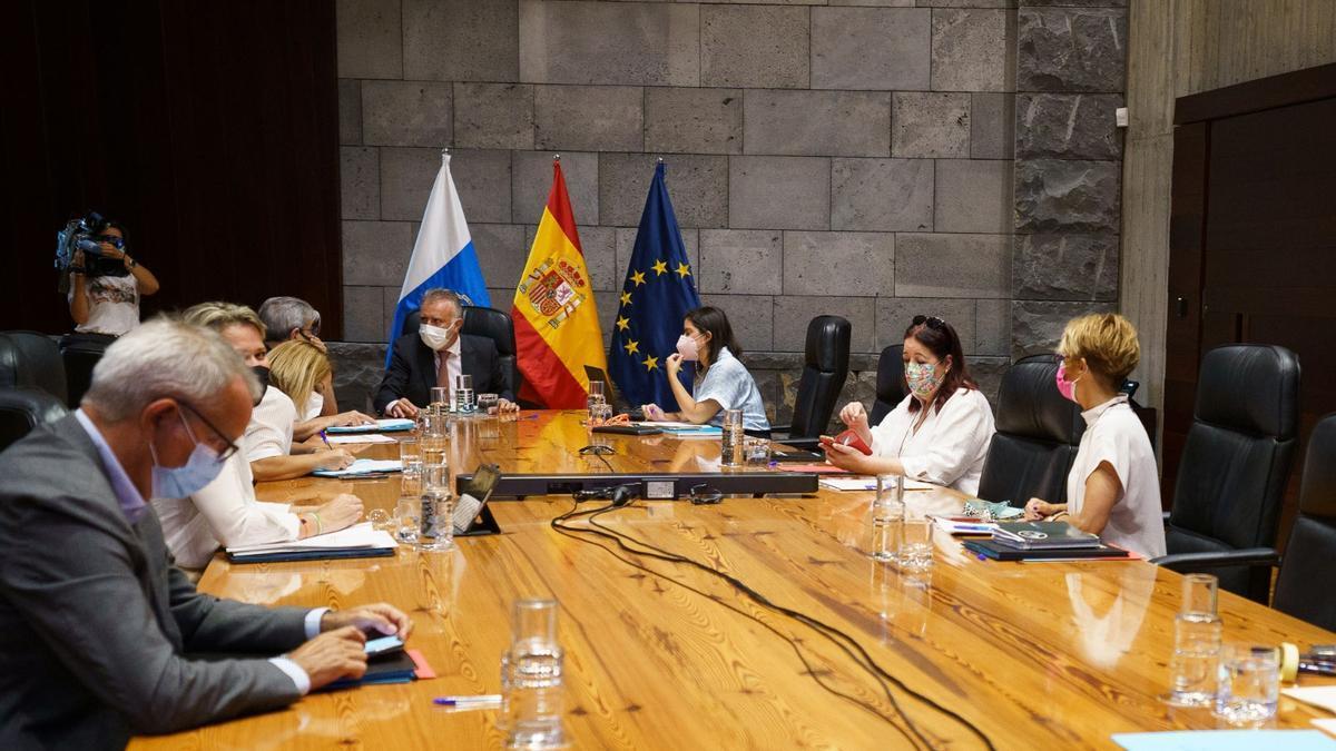 Reunión del Consejo de Gobierno de este jueves, 2 de septiembre