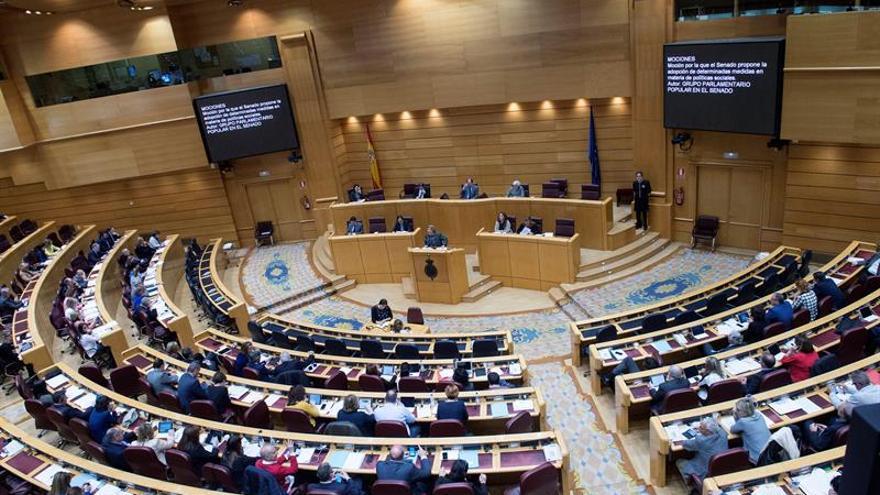 El pleno del Senado instará al PSOE a desbloquear la investidura de Rajoy