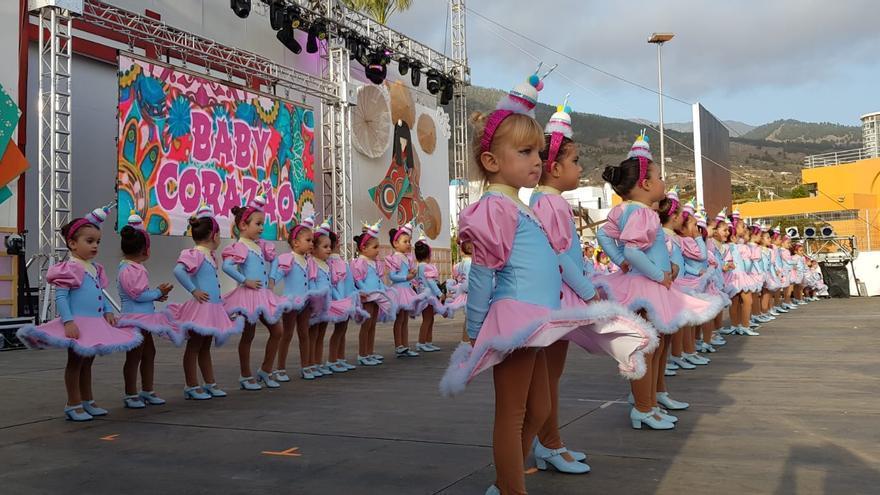 En la imagen, la comparsa Samba do Corazao Baby.