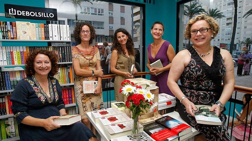 Socias de la cooperativa de trabajo 'Las Libreras'.