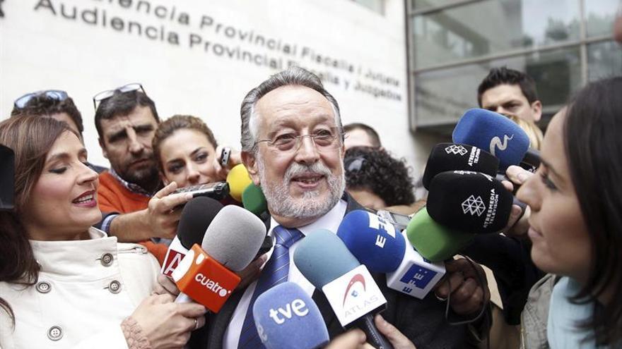 Alfonso Grau, ex vicealcalde de València amb Rita Barberá