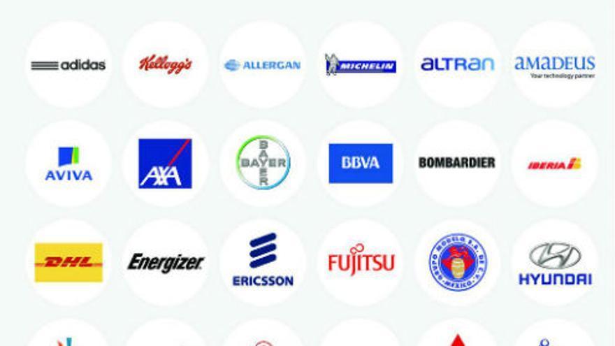 Algunos de los principales clientes de Gamelearn (Imagen: cuenta en Twitter de Gamelearn)