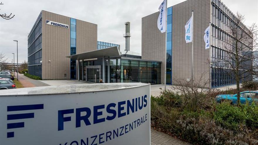 Fresenius sube el beneficio neto un 16 % a 1.814 millones de euros en 2017