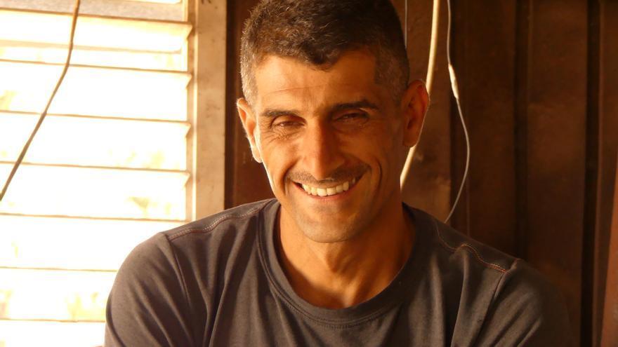 Ahmed, agricultor en Qalqilya | AITOR LOBATO