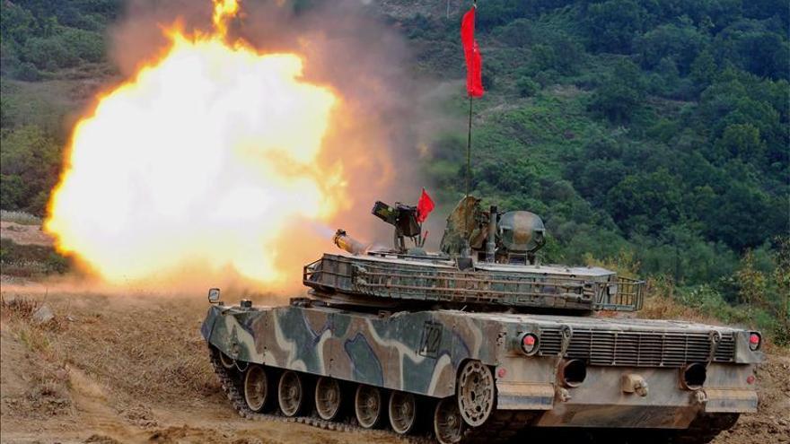"Seúl inicia maniobras militares masivas ante las ""provocaciones"" norcoreanas"