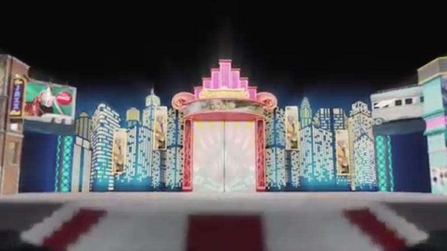 Así es el escenario del Carnaval de Santa Cruz de Tenerife 2020