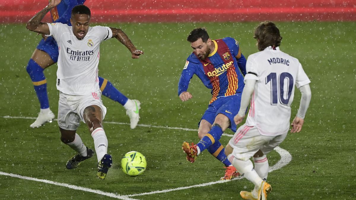 Messi sigue sin marcar