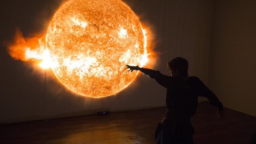 En la imagen, una de las fotografías que se muestran en la exposición.