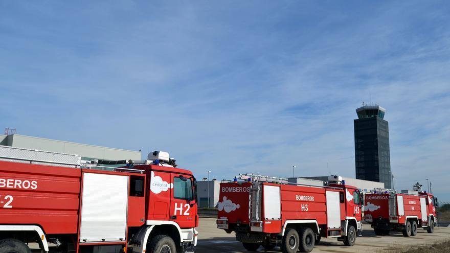 Autobombas del aeropuerto de Ciudad Real