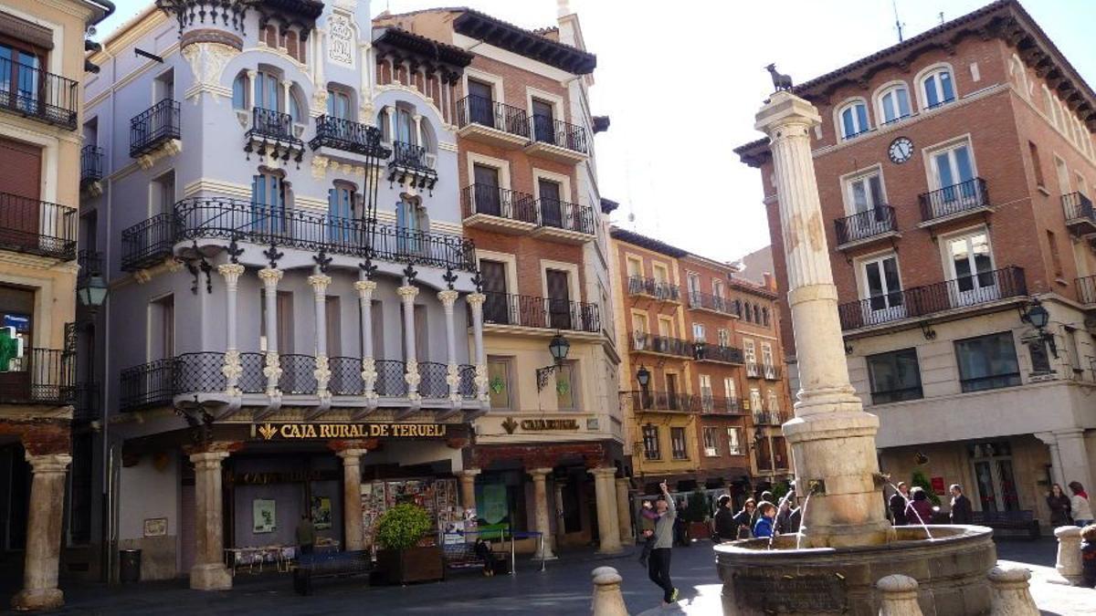 Plaza del Torico de Teruel