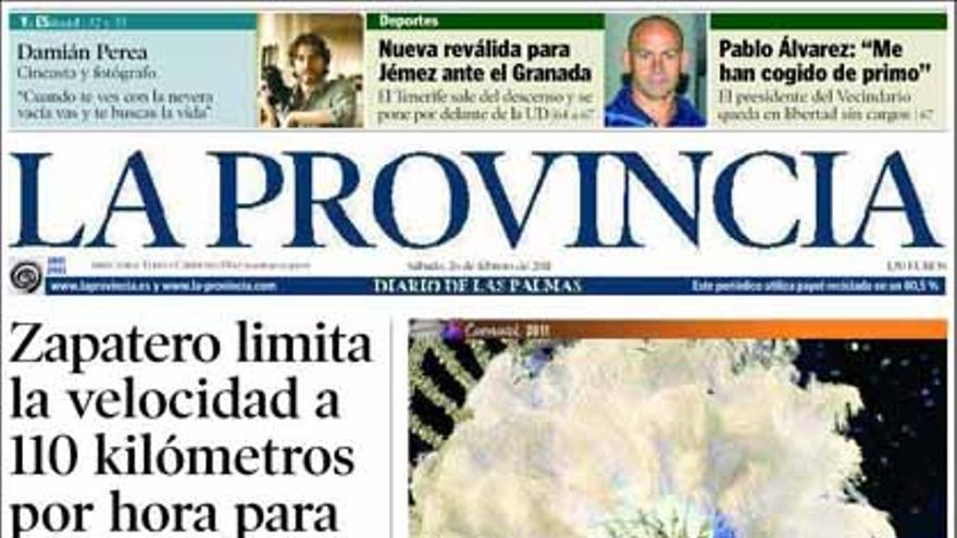 De las portadas del día (26/02/2011) #8