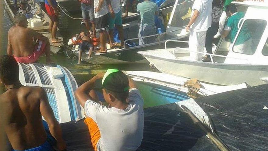 Al menos siete muertos en un naufragio en un río de la Amazonía brasileña