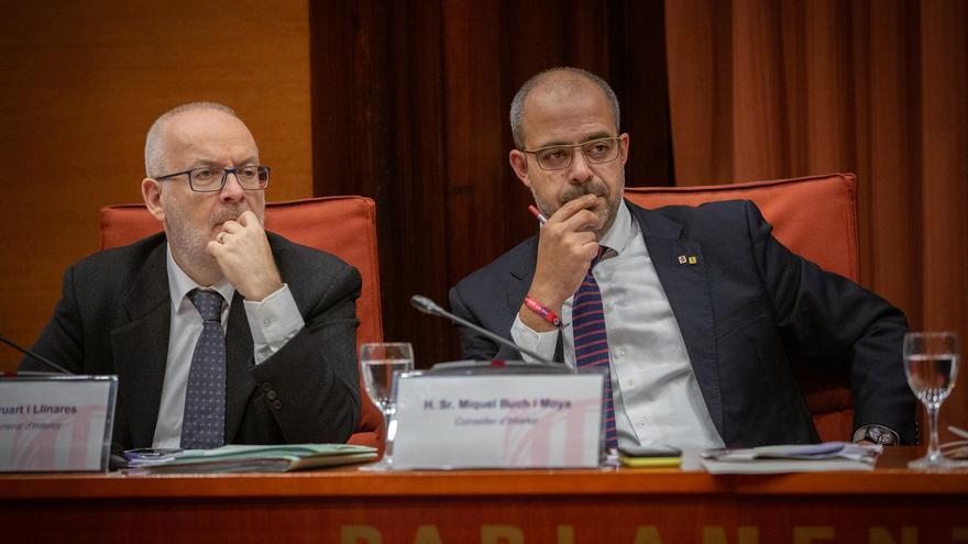 El Govern catalán revisa 33 actuaciones de Mossos en las movilizaciones posteriores al fallo del 1-O