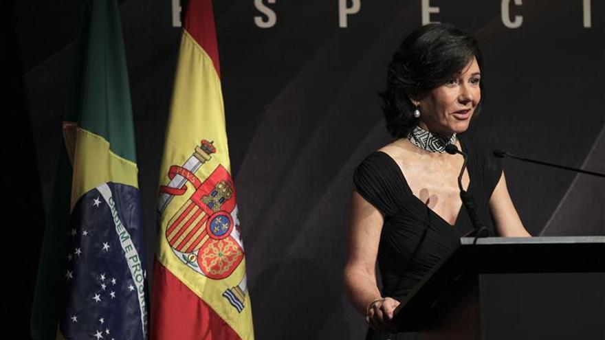 """Ana Botín: """"Santander y yo confiamos en Brasil"""""""