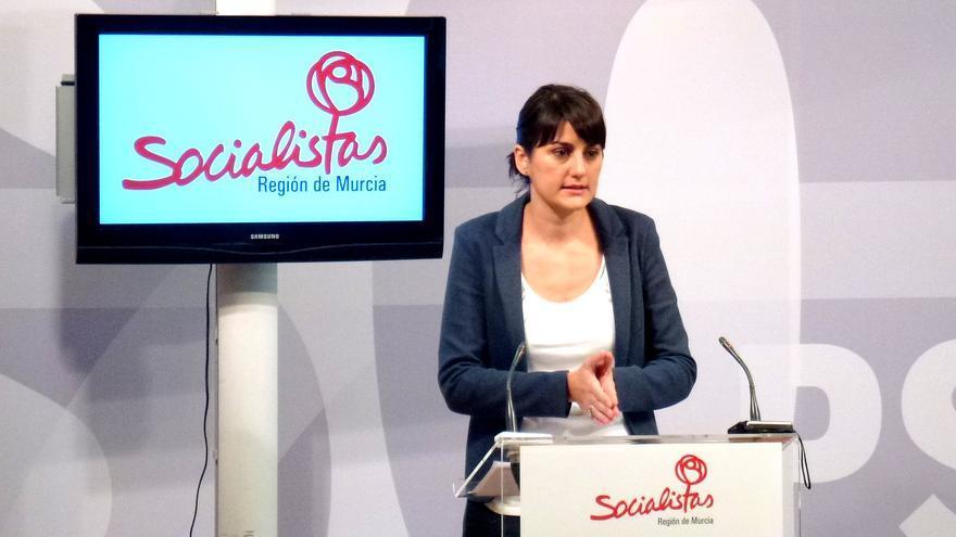 La diputada nacional del PSOE por Murcia, María González Veracruz