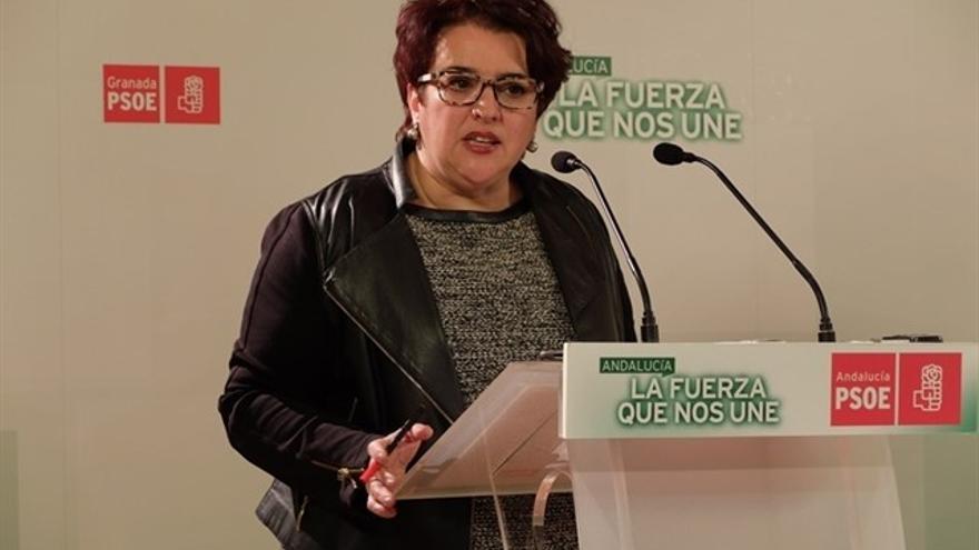 Teresa Jiménez, cabeza de lista del PSOE
