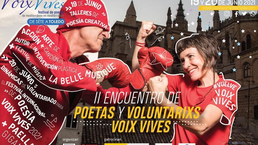 El festival de poesía Voix Vives sigue adelante con la celebración del II Encuentro de Poetas y Voluntarios