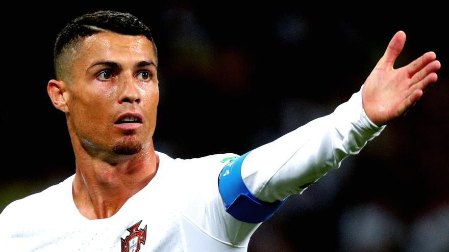 Cristiano Ronaldo en una imagen del Mundial 2018