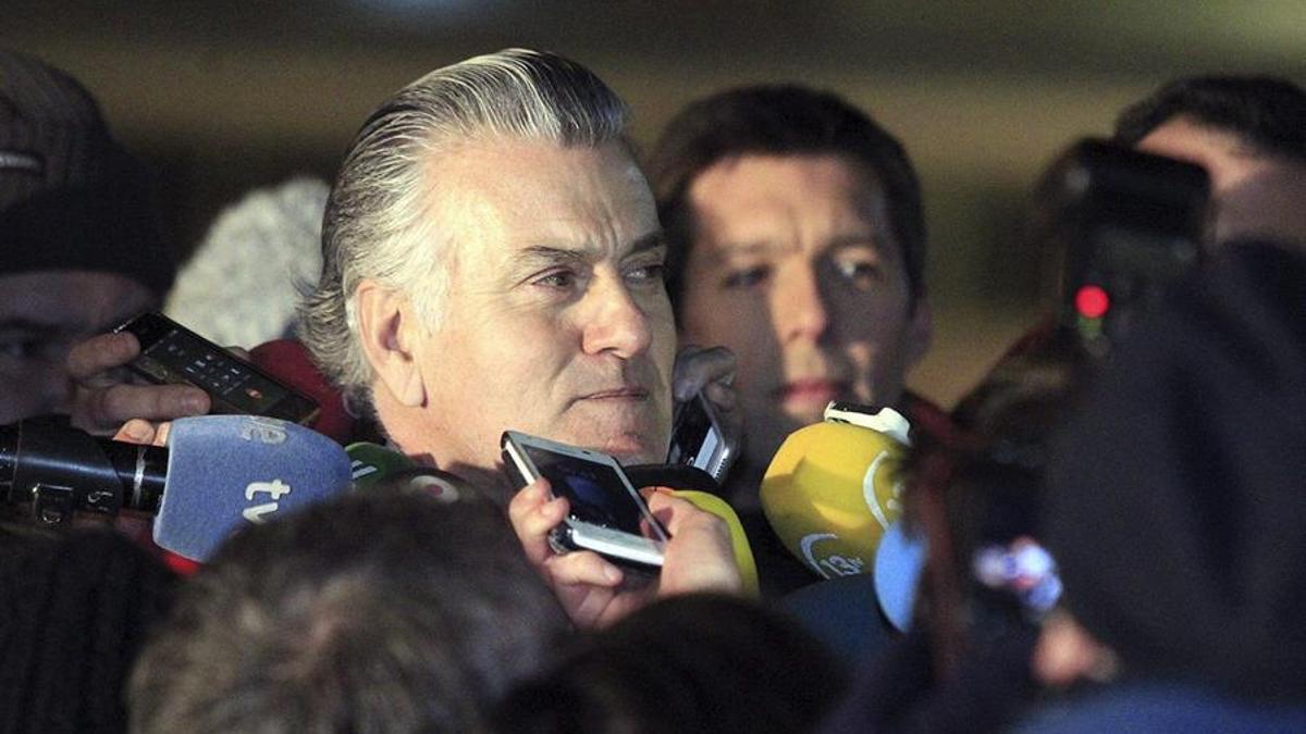 Luis Bárcenas en una imagen de archivo. EFE/Víctor Lerena/Archivo