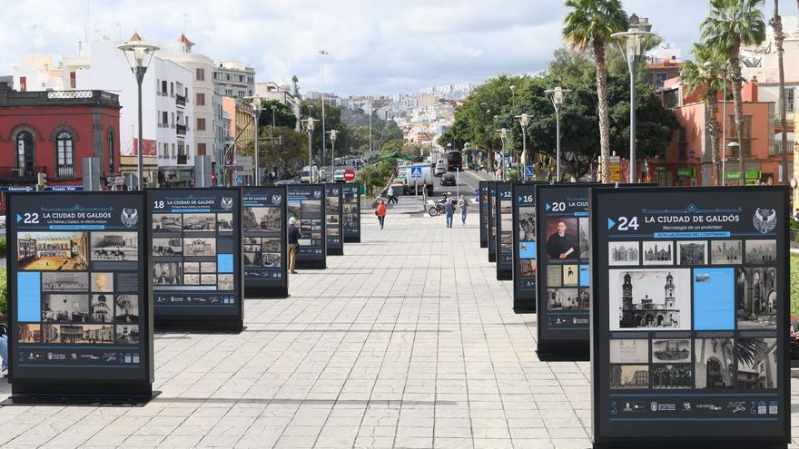 Exposición 'La ciudad de Galdós. Las Palmas de Gran Canaria ayer'.