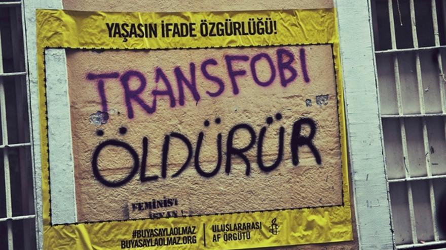 Carteles de Amnistía Internacional Turquía. 2013. © Amnesty International