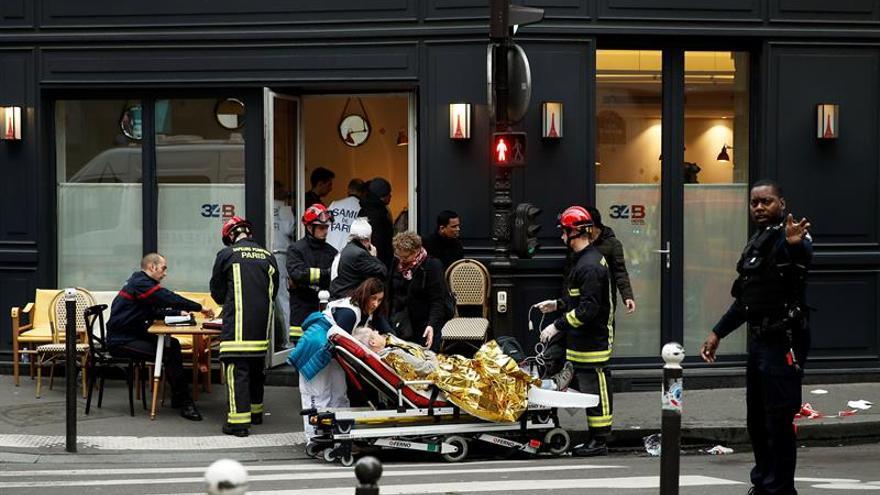 Doce heridos graves, de ellos 5 en estado crítico, por la explosión en París