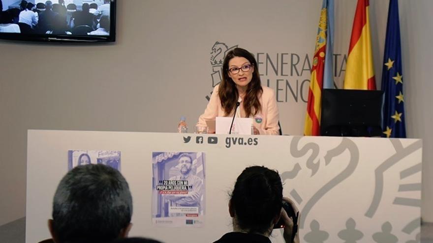 """Oltra está en """"absoluta comunión"""" con Susana Díaz sobre la izquierda útil y pone como ejemplo la gestión del Botànic"""
