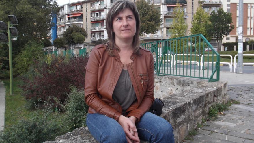 Lydia Almirantearena, presidenta de la Red de Lucha contra la Pobreza y la Exclusión Social.