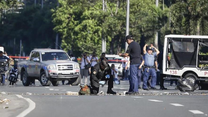 Filipinas acusará de terrorismo a los dos detenidos por el atentado fallido