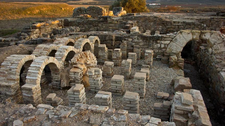 Termas de la ciudad romana de Cástulo. VIAJAR AHORA